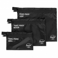 Herschel TRAVEL POUCHES BLACK