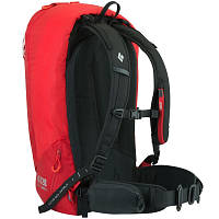Black Diamond HALO 28 JETFORCE BACKPACK FIRE RED
