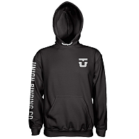 Union HOODED SWEATSHIRT BLACK