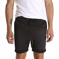 Rusty HOOKED ON ELASTIC  WOVEN SHORT BLACK