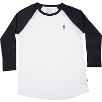 Vans WM WOODSTOCK RAGLAN WHITE-BLACK