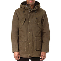 RVCA GROUND CONTROL PARKA BURNT OLIVE