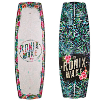 Ronix Krush SS17 Metallic White/Rain Forest