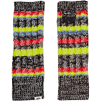 Vans RUN AROUND FINGERLESS GLOVES BLACK/MULTI