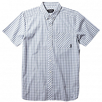 Nixon BIXBY S/S SHIRT Light Gray