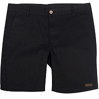 FOLLOW CUT OFF DENIM MENS SHORT BLACK