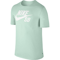 Nike SB LOGO TEE BARELY GREEN/WHITE