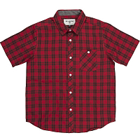Billabong ALL DAY CHECK SS BOY RED