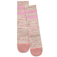 Stance STRIPE CREW GIRLS PINK