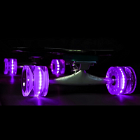 SUNSET SKATEBOARDS LONG BOARD WHEEL WITH ABEC9 PURPLE