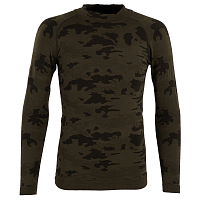 BODY DRY MANASLU LONG SLEEVE SHIRT GREEN CAMO