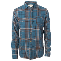 Rip Curl FADED CHECK SHIRT INDIAN TEAL