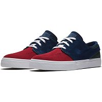 Nike ZOOM STEFAN JANOSKI RED CRUSH/BLUE VOID-WHITE-MIDNIGHT GREEN