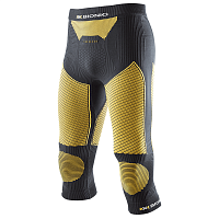 X-Bionic SKI TOURING_EVO MAN UW PANTS MEDIUM Black/Yellow Sunshine