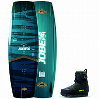 Jobe PITCH WAKEBOARD & NITRO BINDINGS SET BLACK