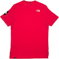 The North Face M S/S FINE 2 TEE RASPBERRY RED (ZCX)