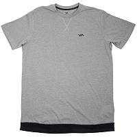RVCA RUNNER MESH SS ATHLETIC HEATHE