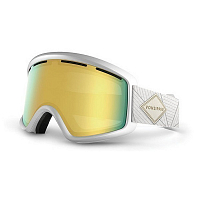 VonZipper BEEFY White Gloss/Gold Chrome