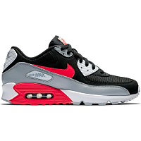 Nike AIR MAX 90 ESSENTIAL WOLF GREY/BRIGHT CRIMSON-BLACK-WHITE