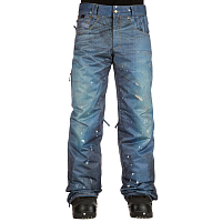 686 MNS DECONSTRUCTD DENIM INS PNT INDIGO DENIM SUBLIMATION