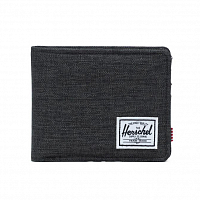 Herschel ROY RFID Black Crosshatch