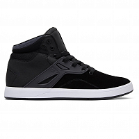 DC FREQUENCY HI M SHOE BLACK/WHITE