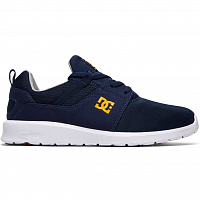 DC HEATHROW M SHOE Navy/Gold