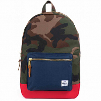 Herschel Settlement Woodland Camo/Navy/Red