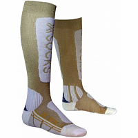 X-Socks XS SKI METAL LADY XITANIT TECHNOLOGY GOLD/WHITE