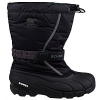 Sorel YOUTH FLURRY Black, City Grey
