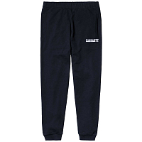 Carhartt COLLEGE SWEAT PANT DARK NAVY / WHITE