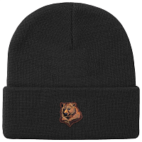 Grizzly BEAR BEANIE BLACK