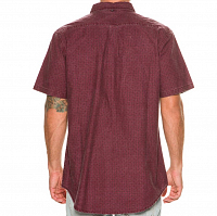Rusty MOBBED SHORT SLEEVE SHIRT PORT