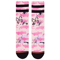 Stance FOUNDATION WOMEN ALLIGATOR PIE PINK