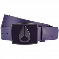 Nixon ENAMEL ICON II BELT Deep Purple