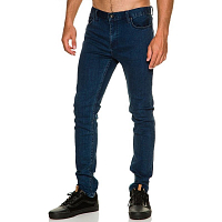 RVCA RVCA ROCKERS DENIM ACID WASH BLUE
