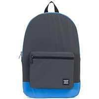 Herschel PACKABLE DAYPACK Black Reflective/Neon Blue Reflective