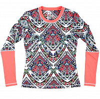 686 BLISS BASELAYER TOP TRIBE CLRBLK