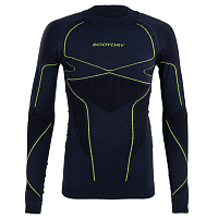 BodyDry MAKALU LONG SLEEVE SHIRT GRAPHITE/ORANGE
