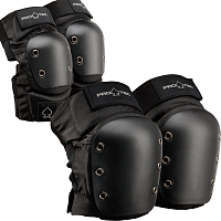 Pro-Tec KNEE/ELBOW PAD SET BLACK