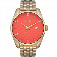 Nixon BULLET Light Gold/Coral