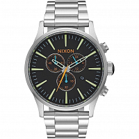Nixon Sentry Chrono BLACK/MULTI