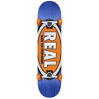 REAL SKATEBOARDS TEAM OVALS 7,5