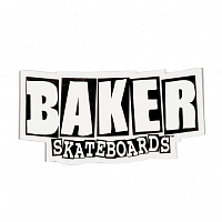 Baker BRAND LOGO STICKER SMALL ASSORTED