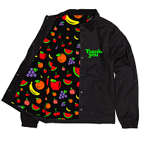 Thank You FRUIT SALAD JACKET Black/Green