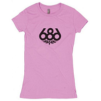 686 WOMENS WREATH S/S T-SHIRT LLAC