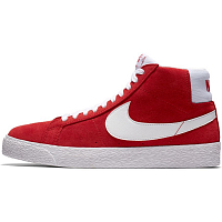 Nike SB ZOOM BLAZER MID UNIVERSITY RED/WHITE
