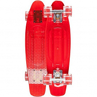 SUNSET SKATEBOARDS LIFEGUARD COMPLETE 22 RED DECK - RED WHEELS