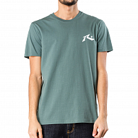 Rusty COMPETITION SHORT SLEEVE TEE EVERGREEN