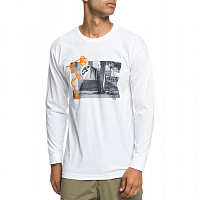 DC EVAN WALL RIDE  M TEES SNOW WHITE